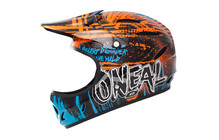 Casque O'Neal Backflip Fidlock Mayhem Crypt DH orange/blue